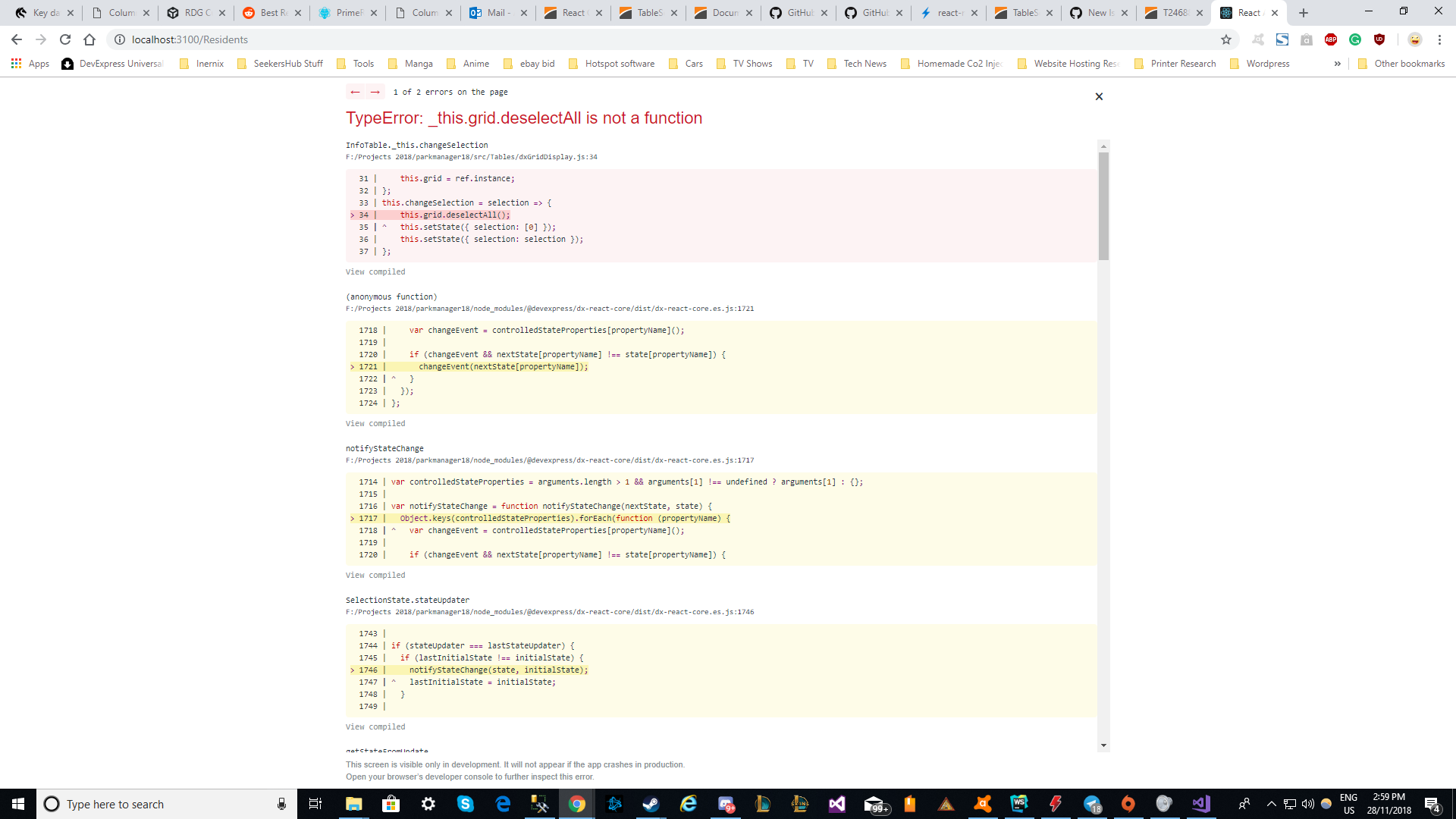 Single Slection · Issue #1647 · DevExpress/devextreme-reactive · GitHub