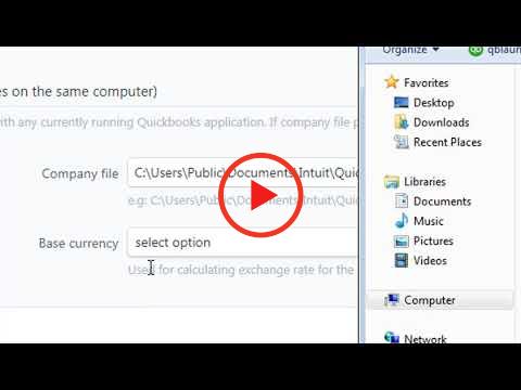 Connect EasyQuickImport to QuickBooks Desktop