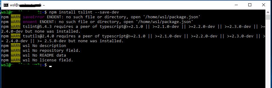 NPM Install - Rename Error · Issue #2097 · microsoft/WSL