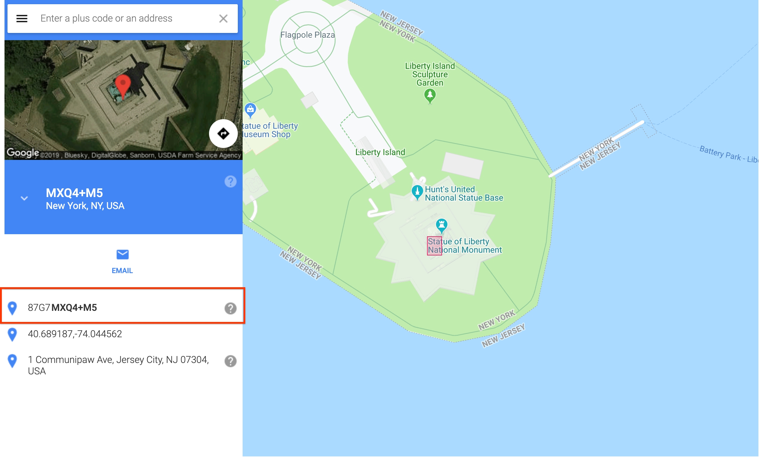 Google maps and 'Find your code' tool create short codes ... on map or, drawing of my, timeline of my, time of my,