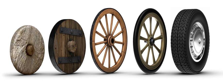 Evolução da roda