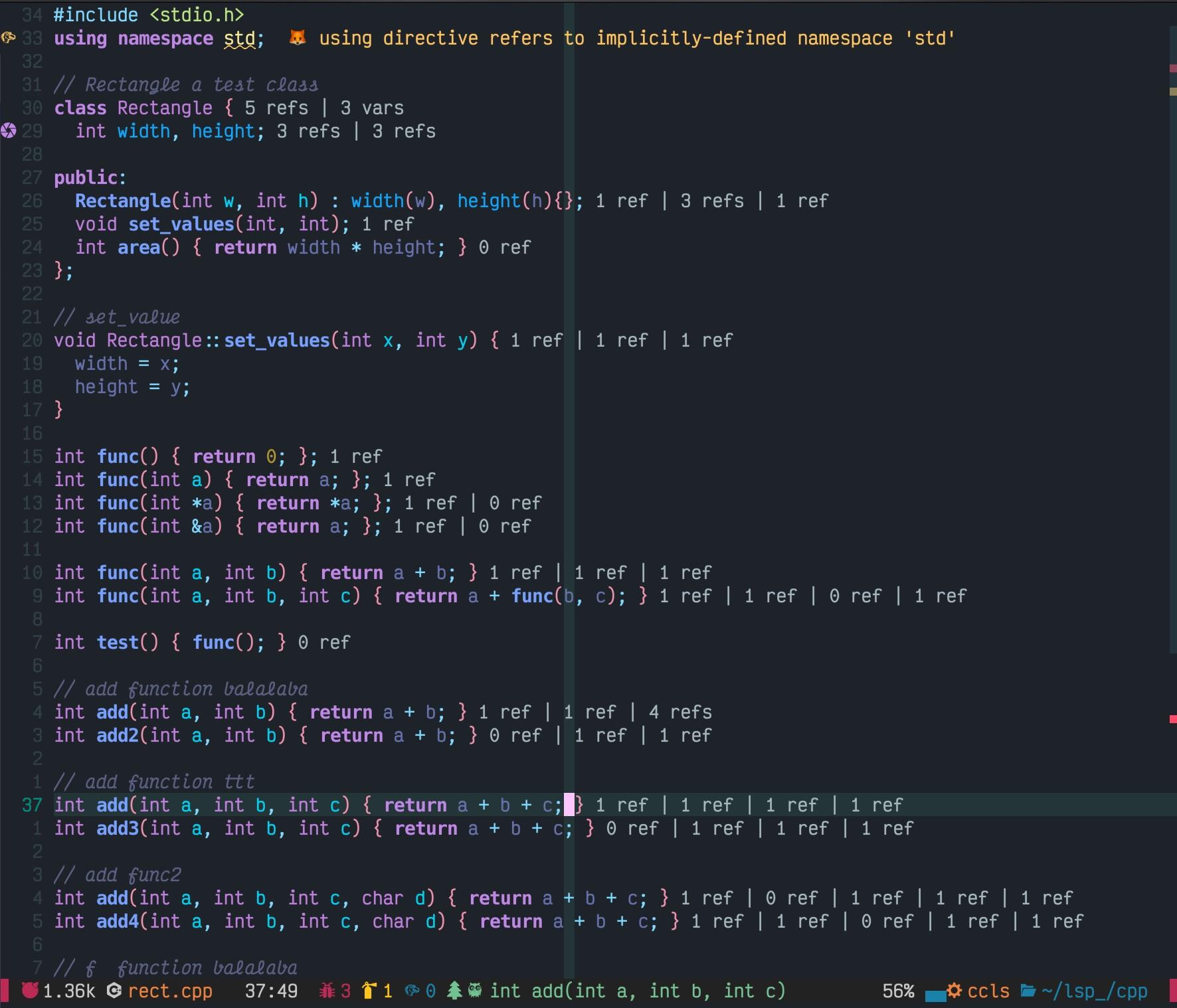 codelens_cpp_ccls