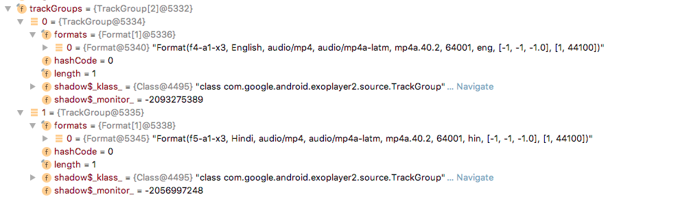 Playback fails in demo app after selecting all the tracks from the