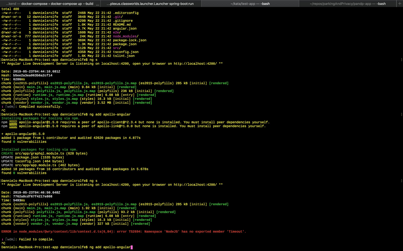 ng add apollo-angular introduces a bug · Issue #1200 · apollographql