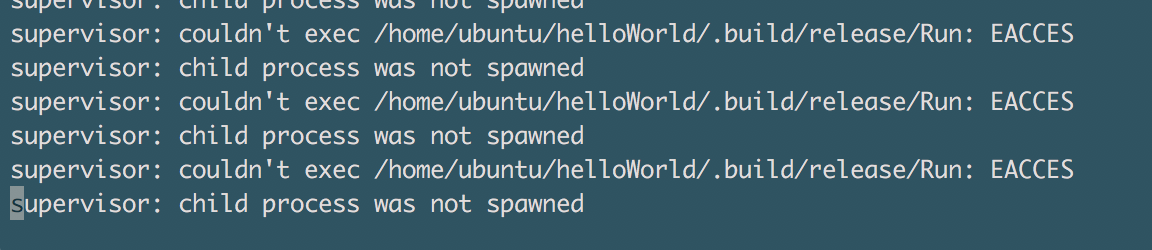 Why is it impossible to deploy a supervisor in Ubuntu