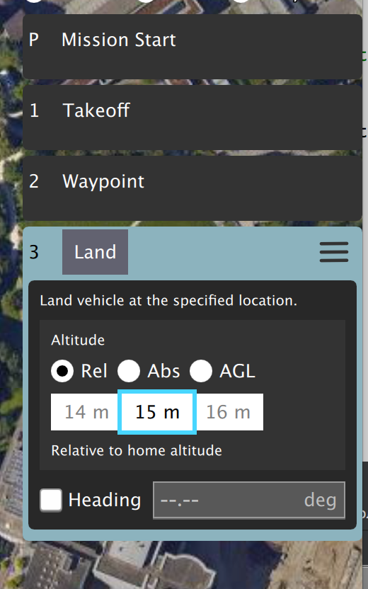 Wrong default altitude in new altitude selector · Issue #6629