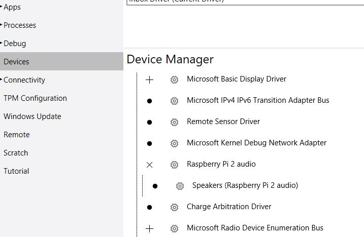 Does Respeaker Mic Array work with Windows 10 IoT Core on the