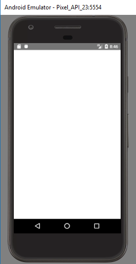 Blank white screen on Android, IOS working fine! · Issue
