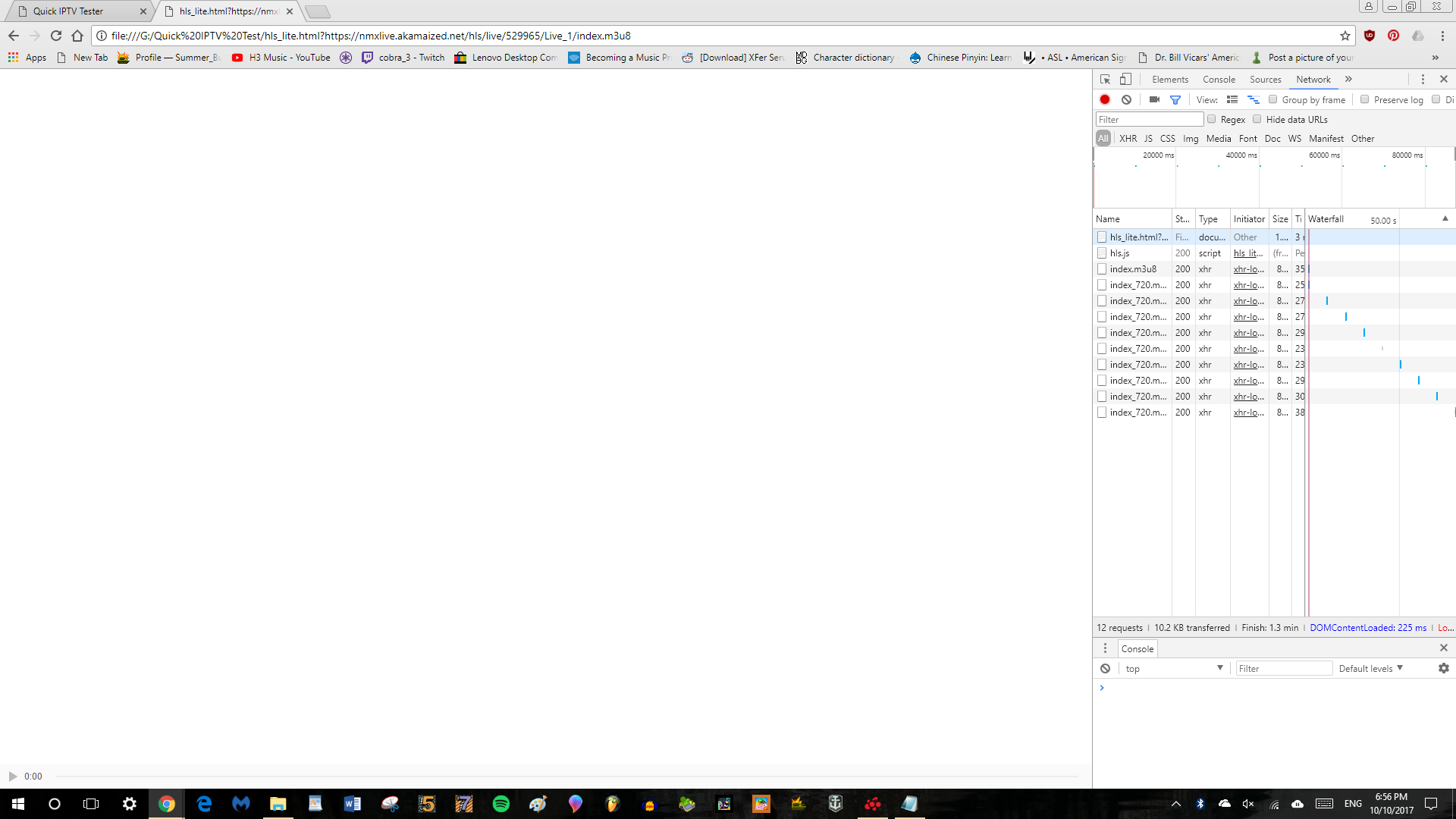 Live Stream in Chrome loads but does not play · Issue #1390