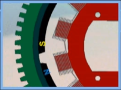 magnet flywheel and stator