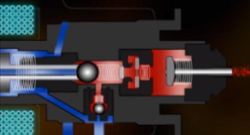 fuel injector pulse