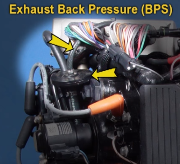 exhaust back pressure