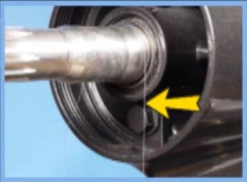 fishing line propeller shaft