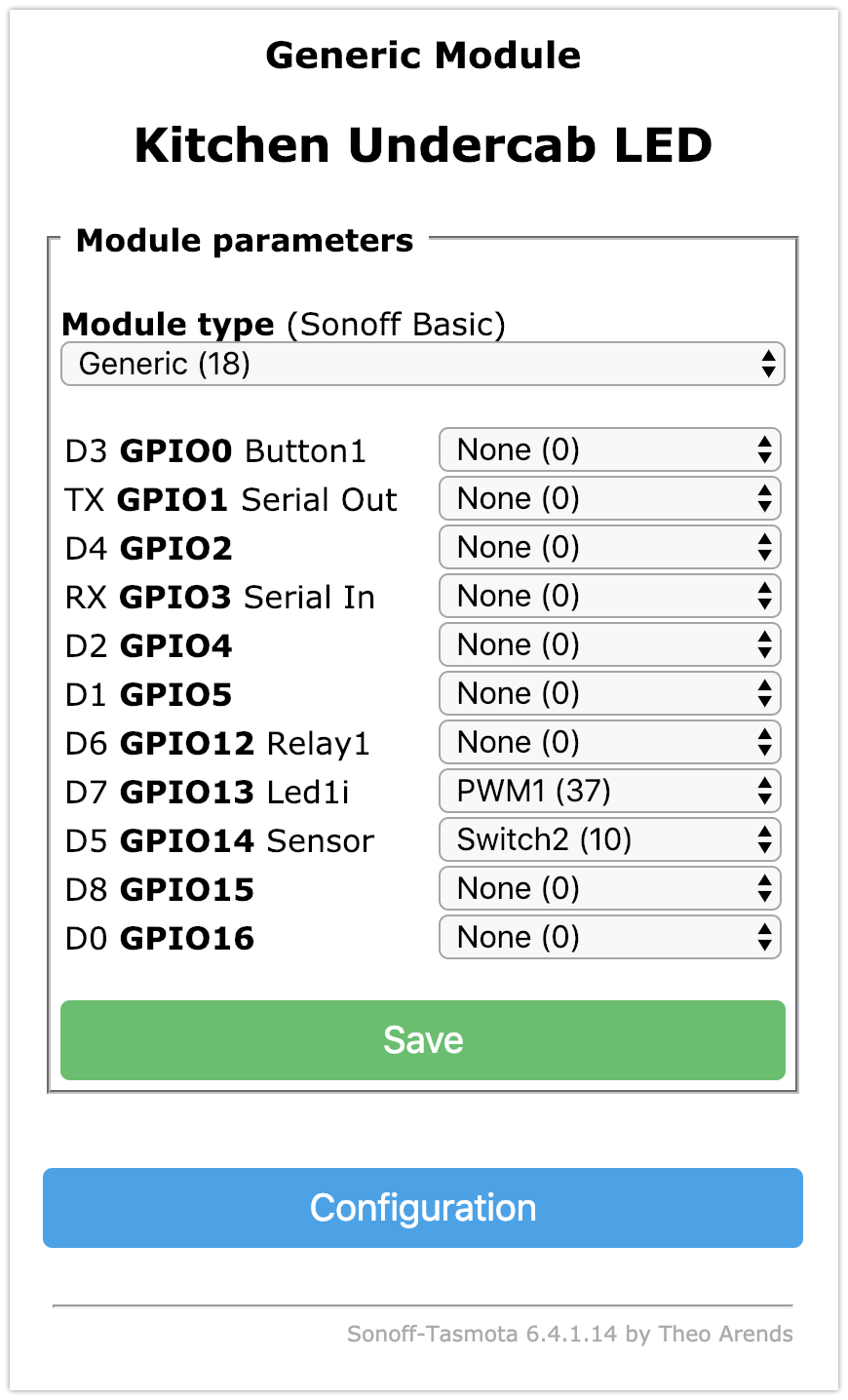 Sonoff Motion Sensor