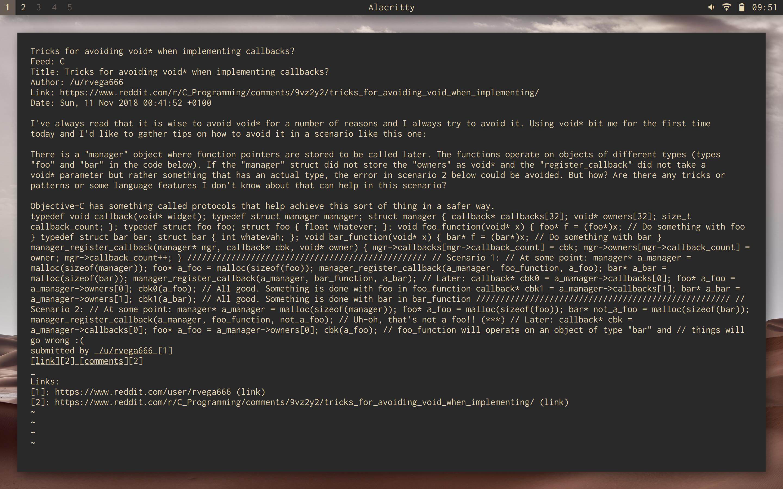 code> inside <pre> makes HtmlRenderer strip the line breaks