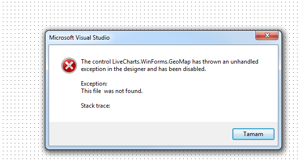 GeoMap does not load into designer in Windows Forms · Issue