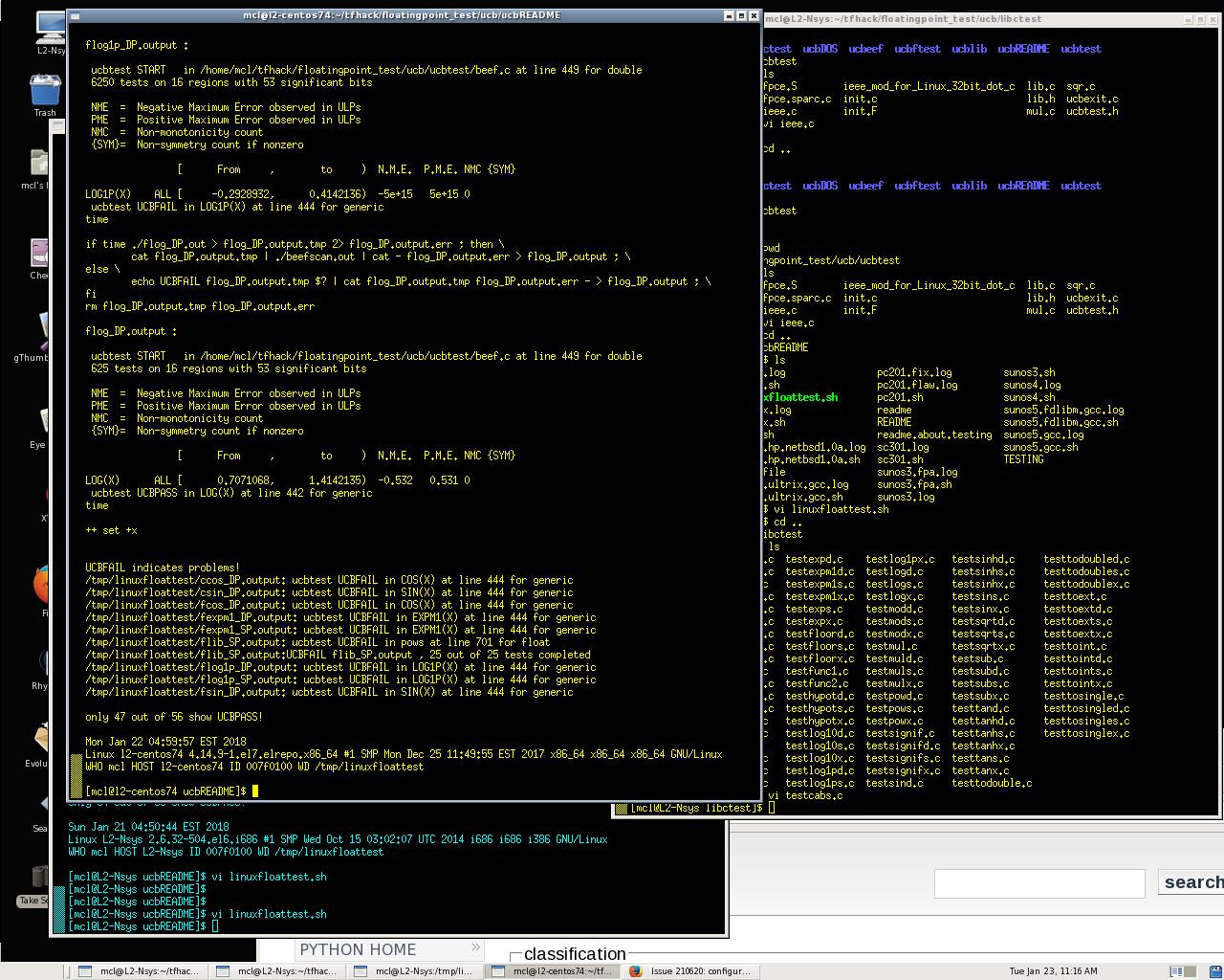Tensorflow 1 4 1 on Linux (CentOS-7 4) and Tensorflow 1 4 1