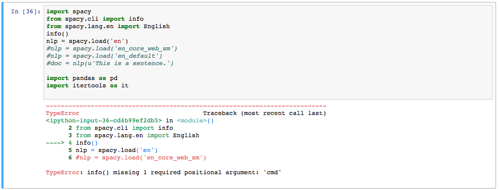 Using Spacy to Analyse Social Networking Site Chats · Issue #1196