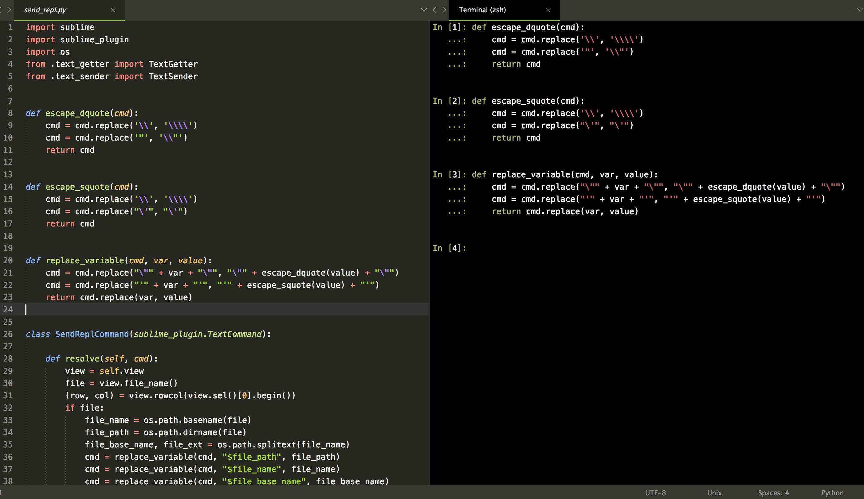SendCode/README md at master · randy3k/SendCode · GitHub