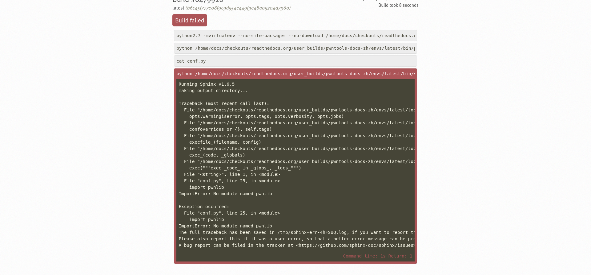 Got some trouble while translating document for pwntools using