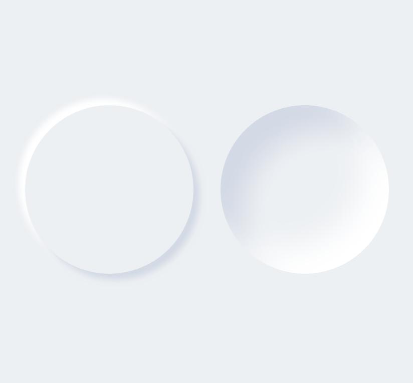 Neumorphic SwiftUI Circles