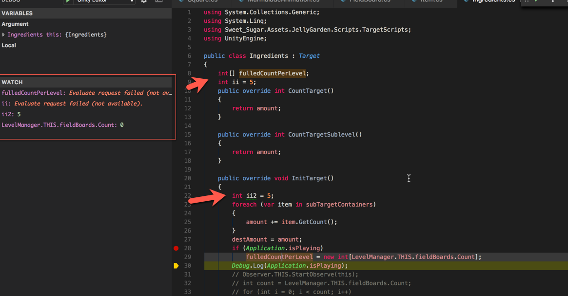Debugger can't see field value  net 4 6 · Issue #62 · Unity