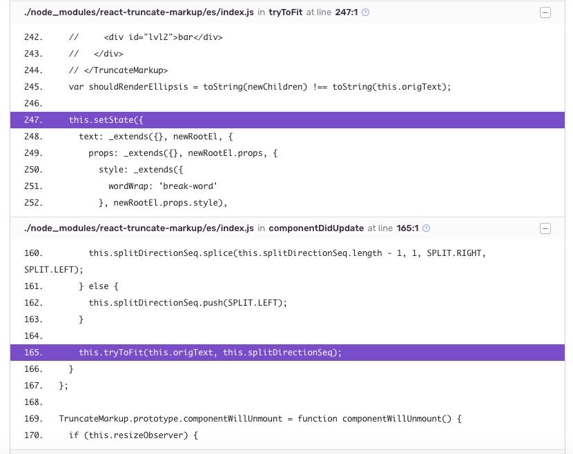 Error: Maximum update depth exceeded · Issue #12 · parsable/react