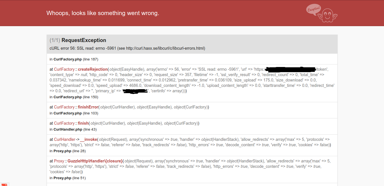 Fatal error uncaught oauthexception error validating access token