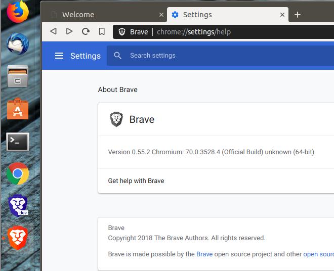 Duplicate Brave Icons in Ubuntu (Gnome) · Issue #1032 · brave/brave