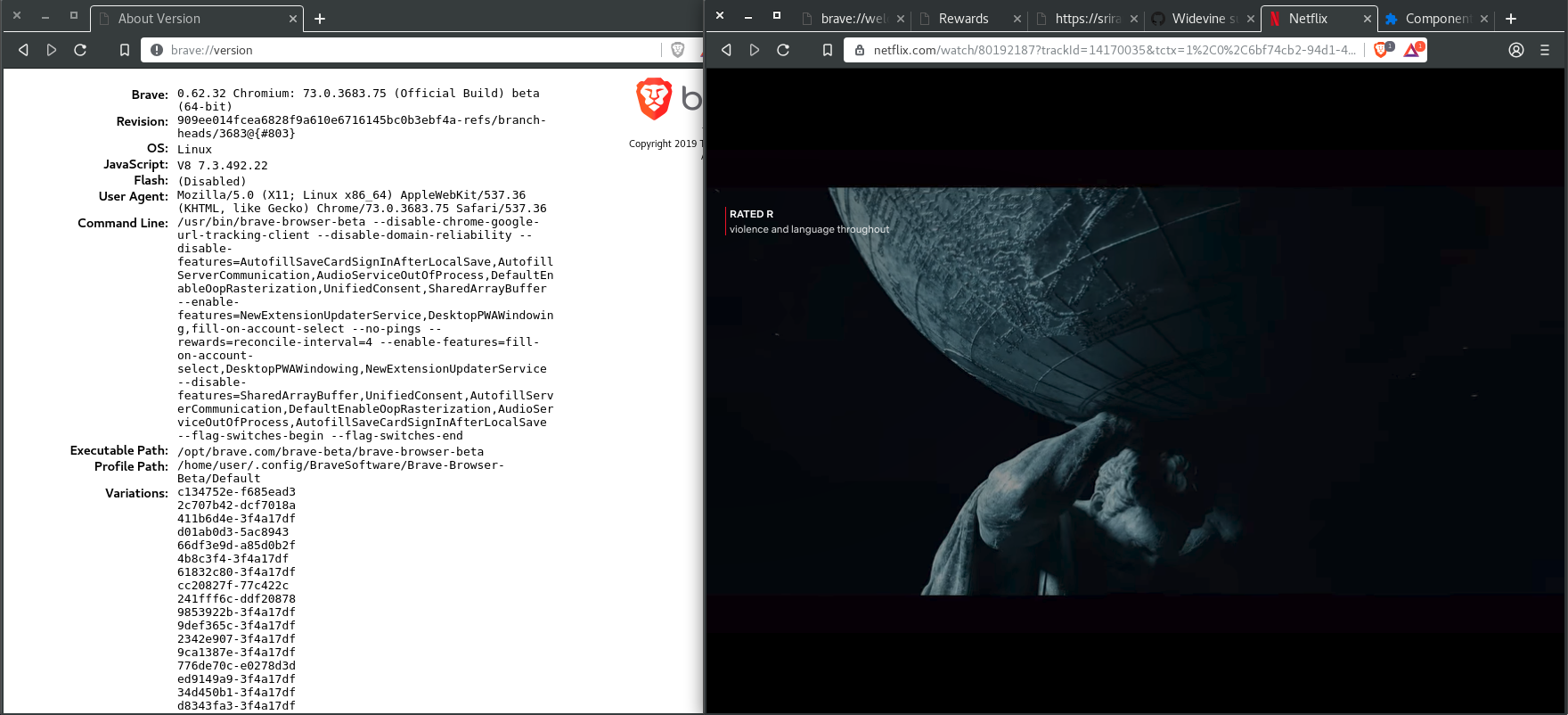 Widevine support for Linux · Issue #413 · brave/brave-browser · GitHub