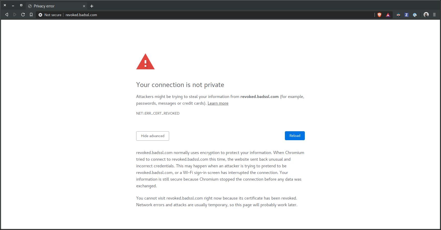 Fix Chromium text in cert error page · Issue #4332 · brave/brave