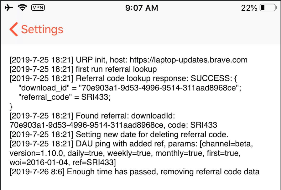 woi is showing 2016-0104 · Issue #1300 · brave/brave-ios · GitHub