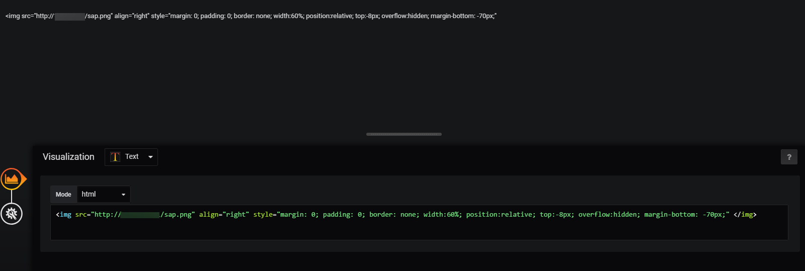 HTML is not working in Text panel using Grafana 6 · Issue #15647