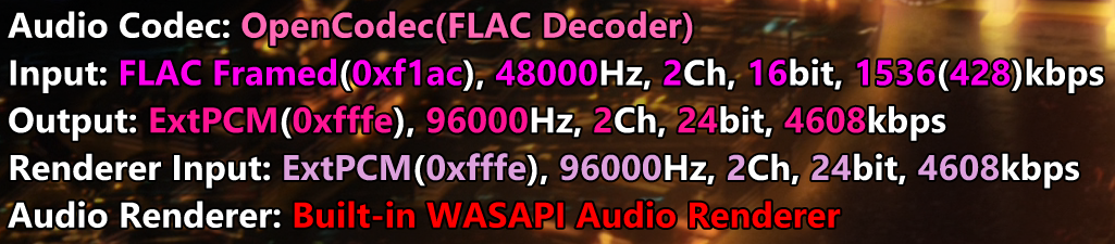 Feature in stats lua: Display audio track bit-depth · Issue #5190
