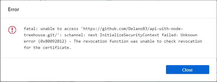 SSL error when publishing repo · Issue #2452 · desktop