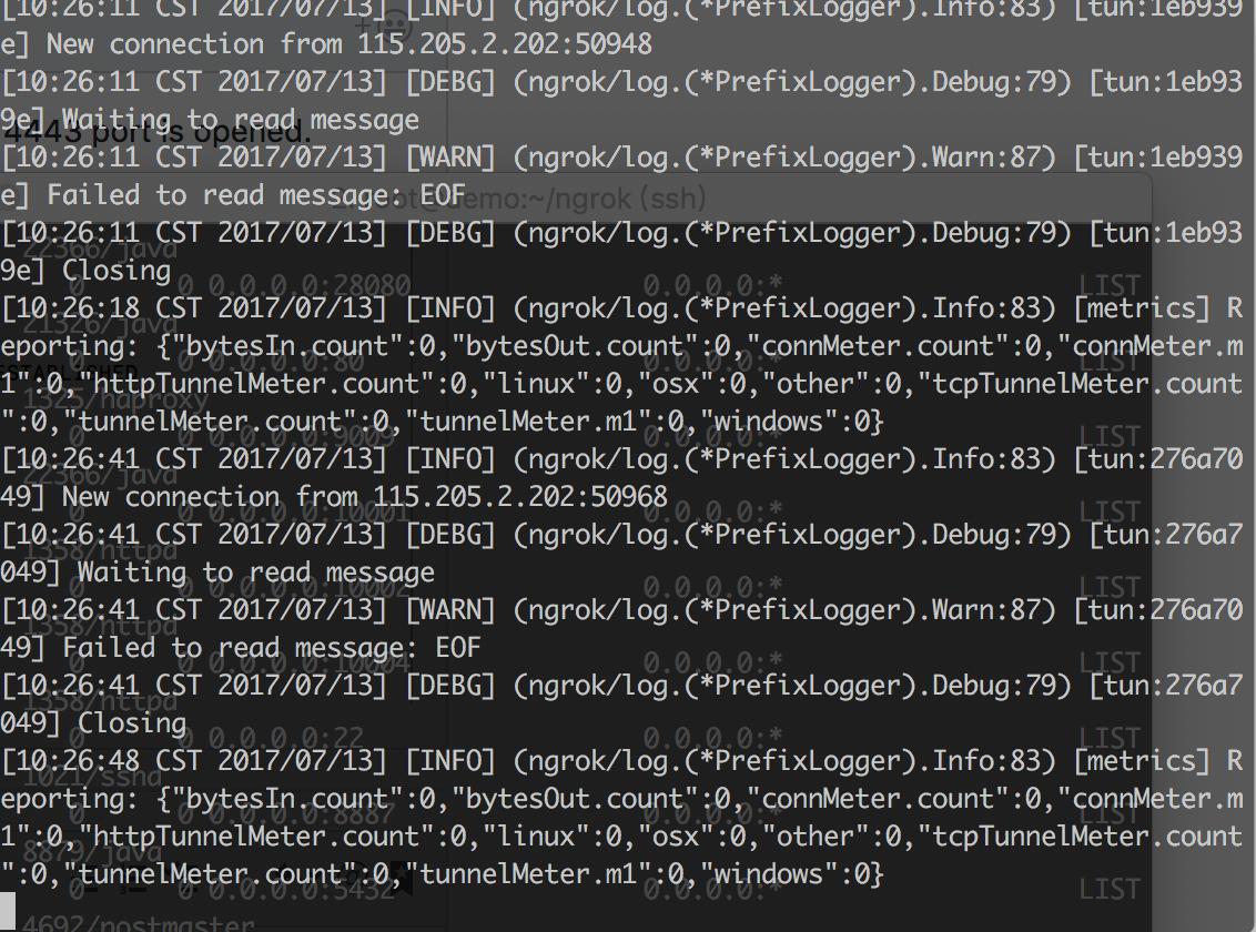 Developers - client status
