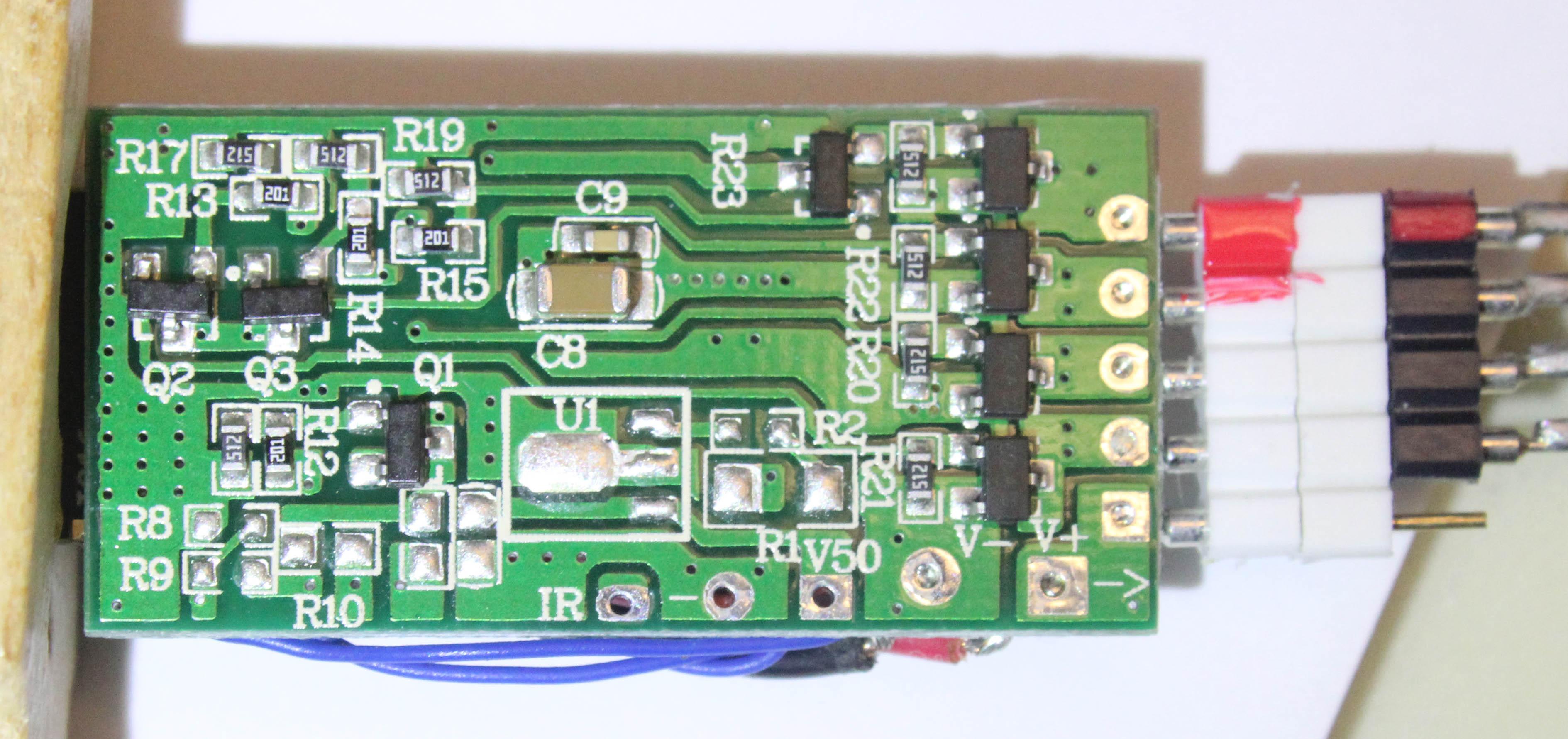 MagicHome LED (ESP-IR-B-v2 3 / ESP8285MOD ESP-M2) not working with