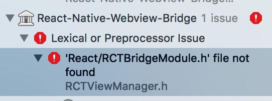 react-native-webview-bridge - Bountysource