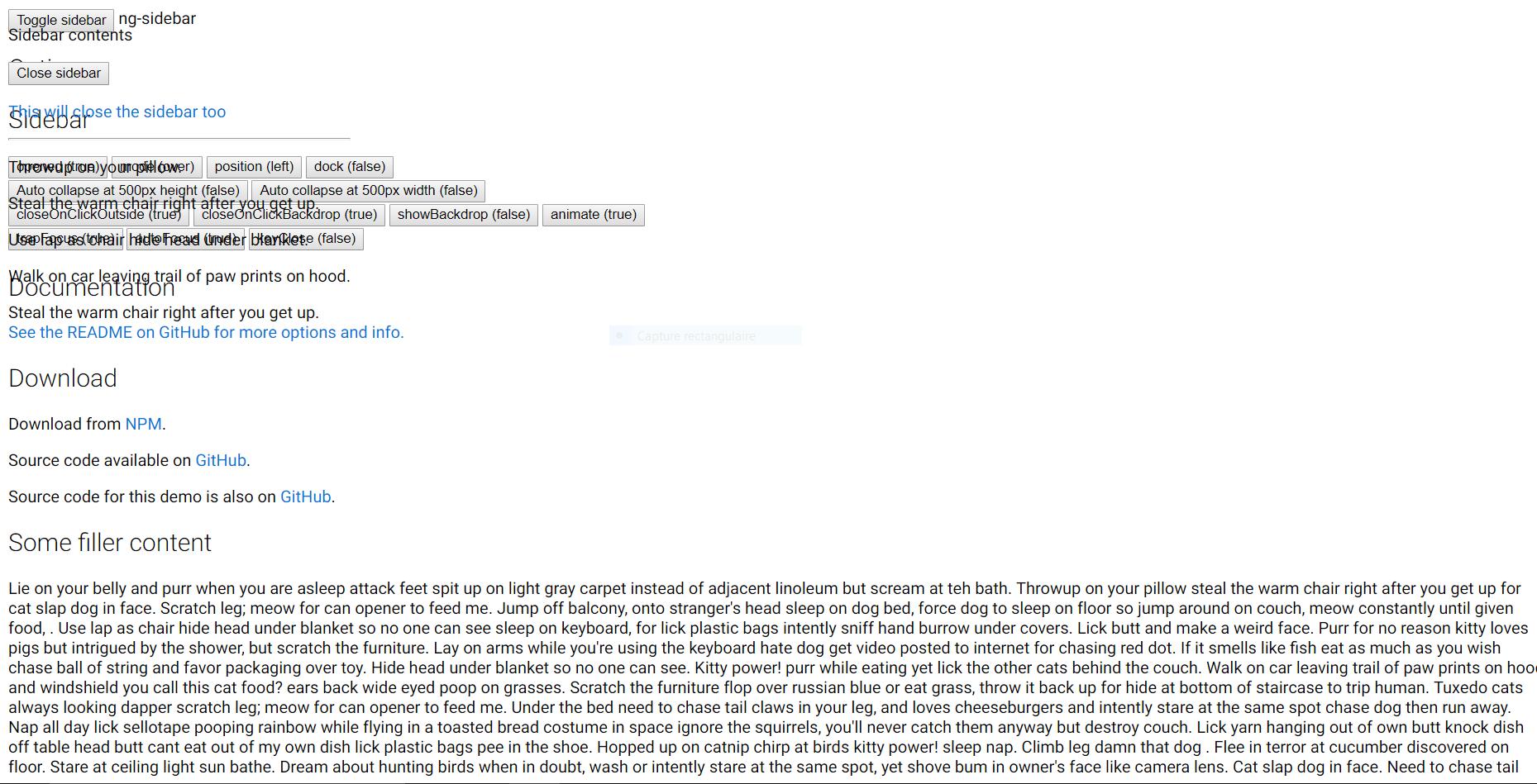 Sidebar not showing up · Issue #105 · arkon/ng-sidebar · GitHub