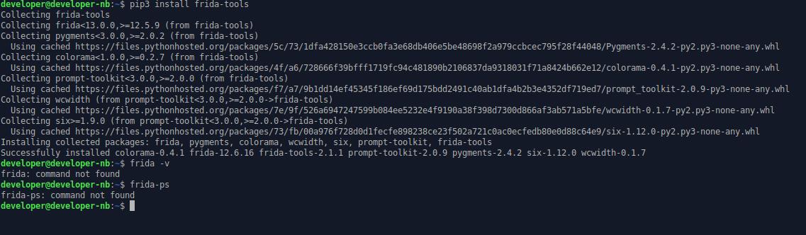 Failed install frida-tools with pip on ubuntu 18 10 · Issue