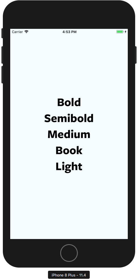 iOS: Cannot Use specific font weight of custom font · Issue #20788