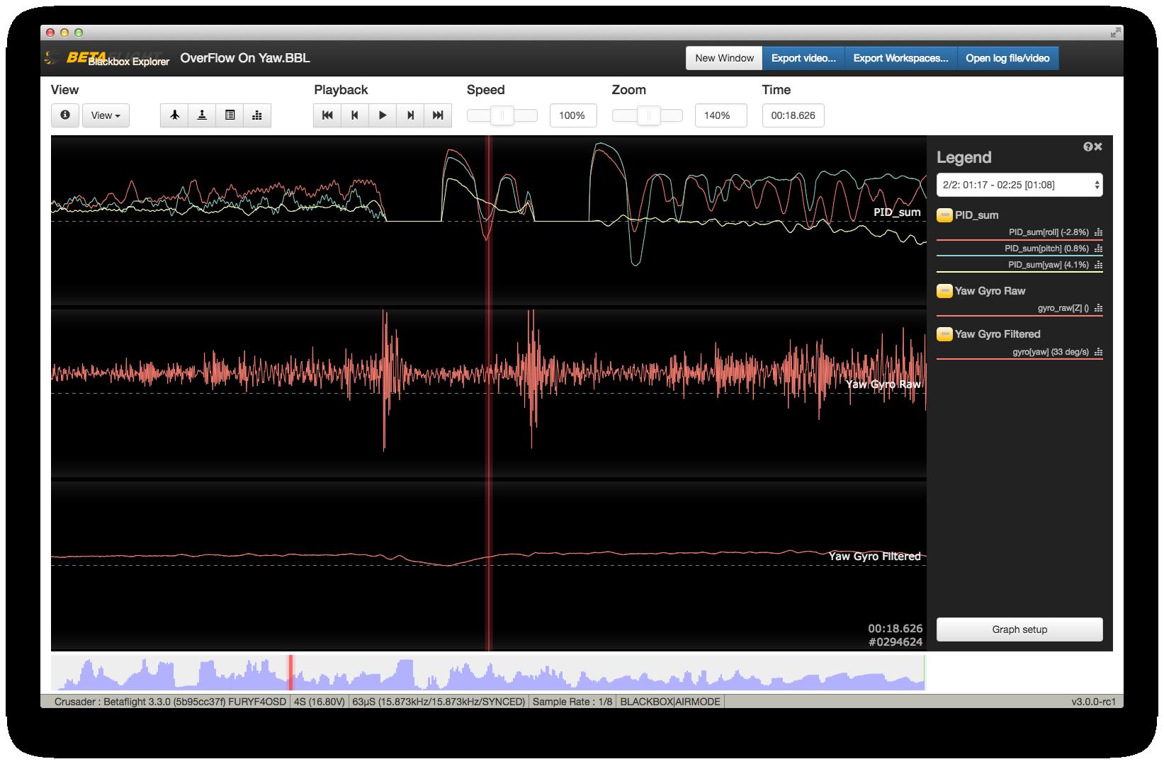 Gyro Overflow Detect false triggering · Issue #5171 · betaflight