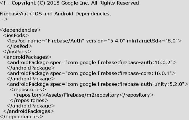 Mixed Dependency Versions bugs 2 0 · Issue #130 · googlesamples