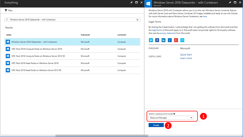 06  Deploying your Windows Containers based app into Azure VMs