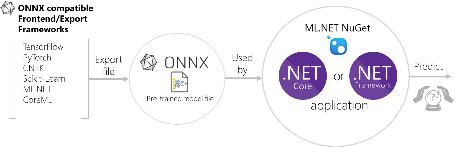 Process exporting and scoring ONNX models