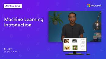ML.NET video series