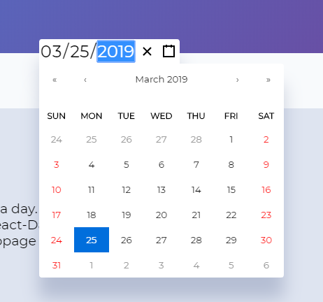 Feature request/Help wanted: Date picker · Issue #441