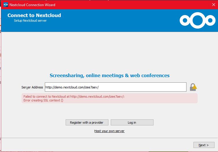 SSL context creation failed · Issue #582 · nextcloud/desktop · GitHub