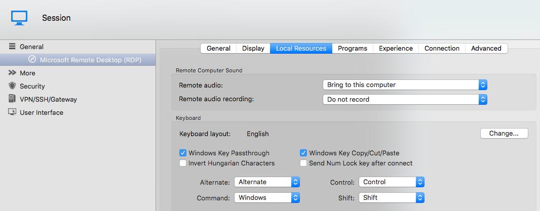 Modifier keys stop working in Microsoft Remote Desktop · Issue #5841