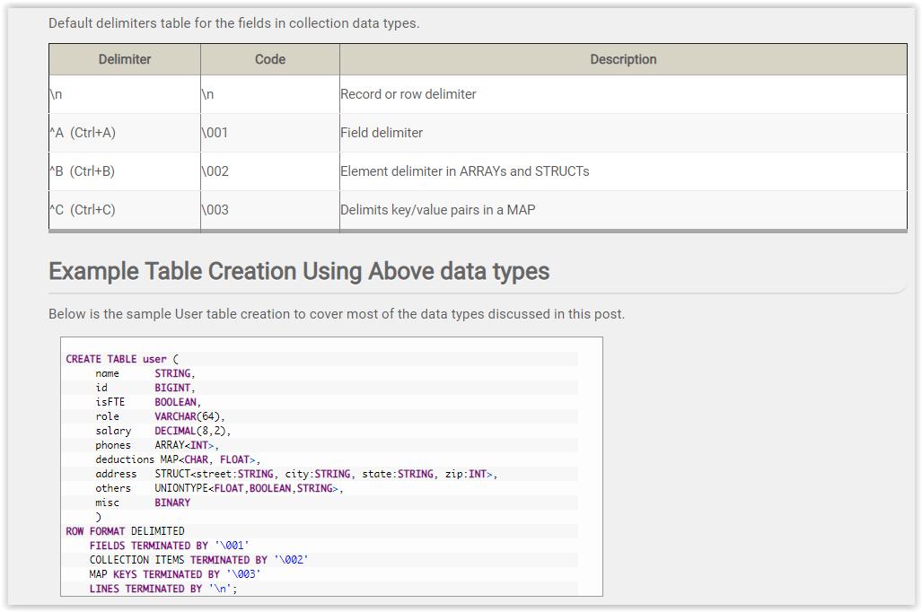 Hive Syntax Cheat Sheet · GitHub
